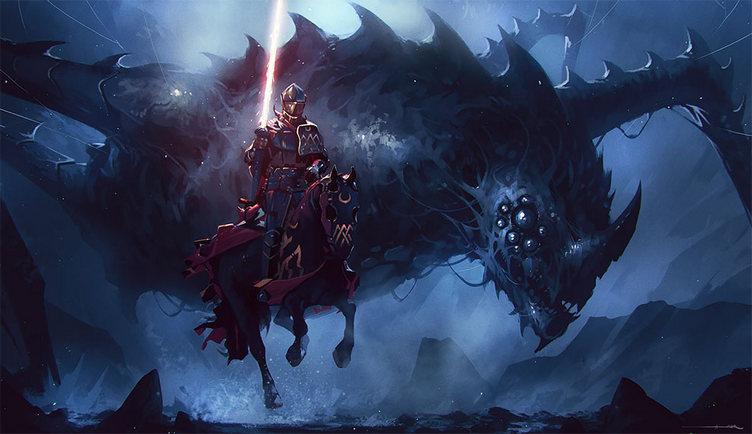 Огненный шест используется в мире драконов